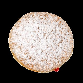 Strawberry Jam Doughnut