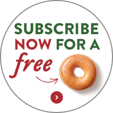 Krispy Kreme Newsletter Sign up